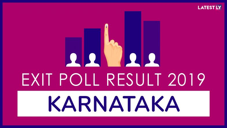 Karnataka Exit Poll Results For Lok Sabha Elections 2019: BJP to Win 20-21 Seats, Congress-JDS to End Up With 7-8