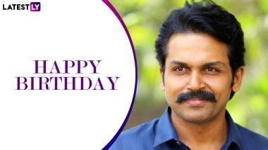 Karthi Birthday Special: From Paruthiveeran to Oopiri – 5 Best Performances of the Tamil Star That Won Our Hearts