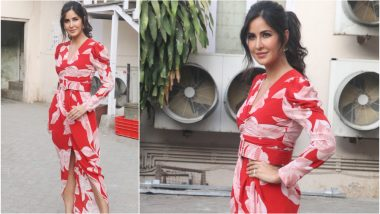 Katrina Kaif Goes Red Hot for Bharat Promotions and We Can't Keep Calm! - See Pics