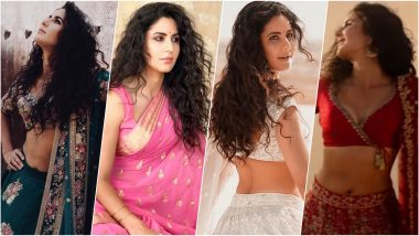 Katrina Kaif Rocks Ethnic Wear in 'Chashni' Song From Bharat Movie With Salman Khan (View Pics & Video)