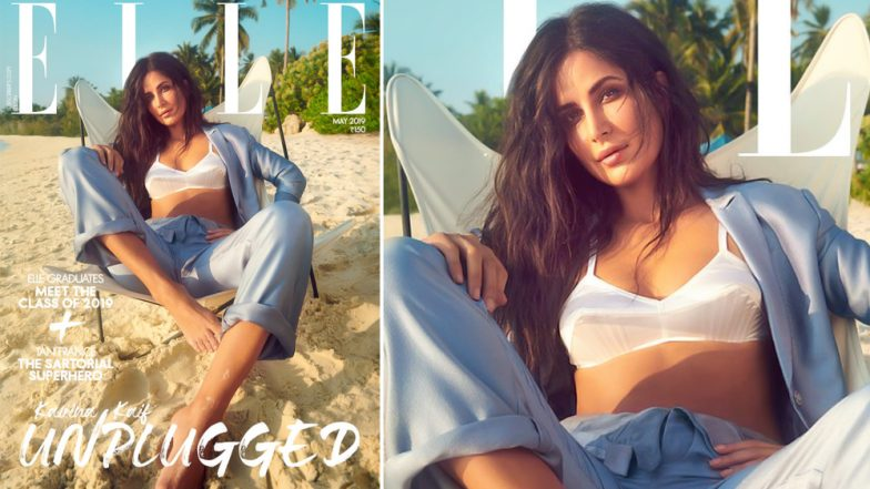 Katrina Kaif's Summer-Ready Look Wearing a Silk Bralette on the Elle Cover is Simply Gorgeous - See Pic!