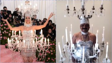 Katy Perry's Met Gala 2019 Chandelier Dress Inspires Just Sul Who Makes One of His Own!