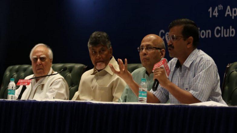 Lok Sabha Elections 2019: Opposition in Huddle Ahead of Results, Kejriwal Attends Anti-BJP Bloc Meet, Sharad Pawar Dials Jaganmohan Reddy