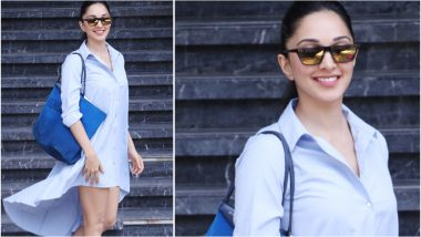 Kiara Advani is Beating the Heat in This Summery Shirt Dress and We Simply Love It! - See Pics