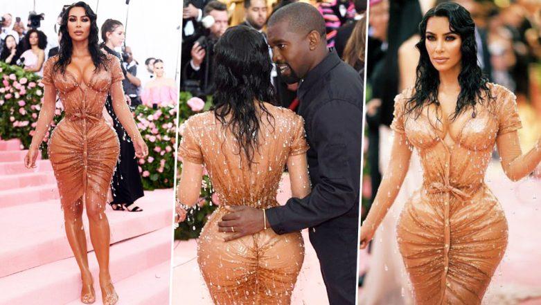 Met Gala 2019: Kim Kardashian's Nude Dress Wins the Internet, But Her Nature-Defying Teeny Tiny Waist Doesn't