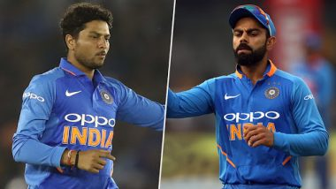 ICC Cricket World Cup 2019: Team Indian Captain Virat Kohli Says Kuldeep Yadav Is a Pillar of Indian Bowling