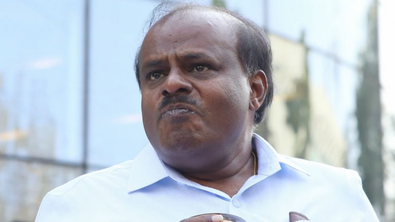 Karnataka: 2 Arrested by Bengaluru Police For Abusing CM HD Kumaraswamy, Son Nikhil in Viral Video