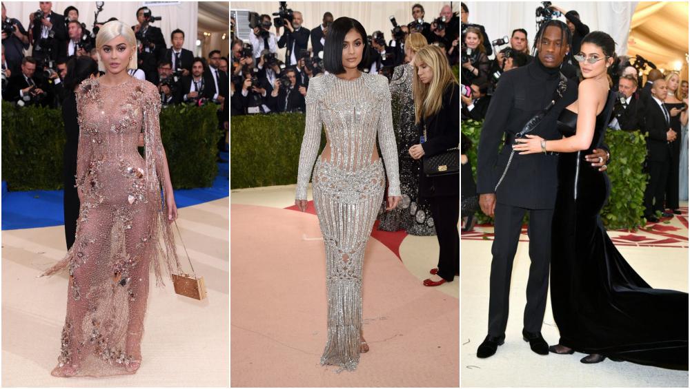 Kylie Jenner at Met gala.