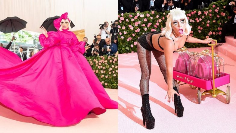 Lady Gaga Practically Stripped From A Gown To Shimmery Lingerie As She Walked The Met Gala 2019 Red Carpet - Watch Video!