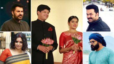Mammootty, Indrajith Sukumaran, Jayasurya, Ann Augustine, and Other Celebs Grace Engagement of Director Lal Jose's Daughter Irene! Watch Video