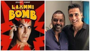 Laxmmi Bomb: Raghava Lawrence Returns as the Director of Akshay Kumar's Next, Thanks the Actor for Sorting Out all the Issues