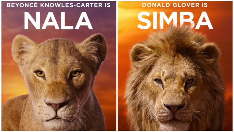 The Lion King Disney Releases New Character Posters And A