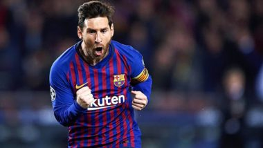 La Liga 2018-19: Top Scorer Lionel Messi Wins Sixth Pichichi Award; Overtakes Cristiano Ronaldo for Most Club Goals
