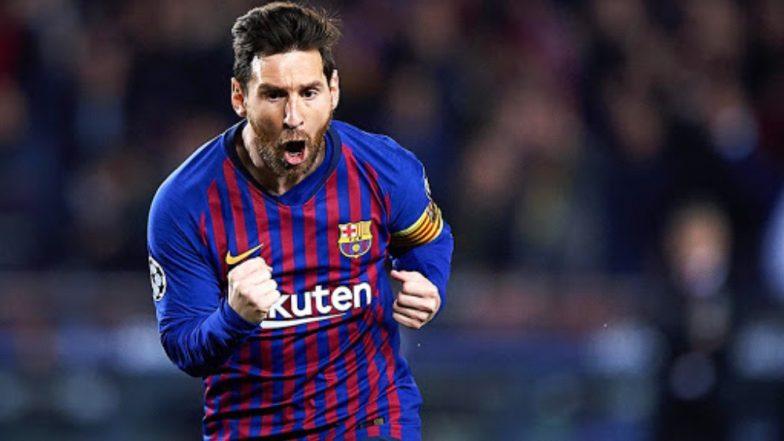 Lionel Messi Joins Barcelona Squad for Clash Against in Borussia Dortmund in UEFA Champions League 2019-20