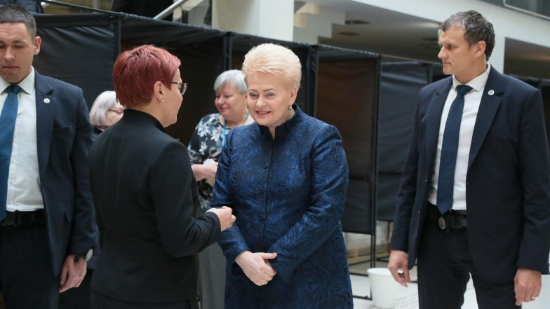 Lithuanian Presidential Election 2019: Voting Takes Place for Presidential Poll
