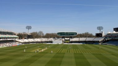New Zealand vs England ICC Cricket World Cup 2019 Final Weather Report From London: Check Out Rain Forecast and Pitch Report of the Lord's Cricket Ground