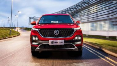 MG Hector SUV Launching in India Tomorrow; Expected Price, Features, Specifications & Other Details