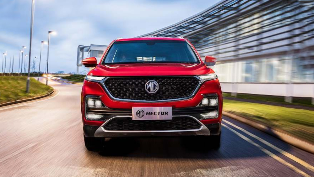 MG Hector 02 - 2019 MG Hector SUV Officially Unveiled; India Launch Next Month - View Pics