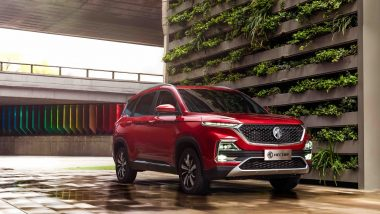 MG Hector SUV Launching Today in India; Watch Live Streaming of MG Motors' Premium SUV Launch Event