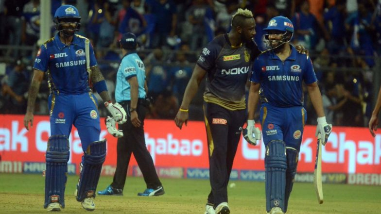 MI vs KKR Stat Highlights IPL 2019: Kolkata Knight Riders Miss Playoffs Berth As Mumbai Indians Win by Nine Wickets