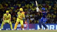 Mumbai Indians vs Chennai Super Kings, Abu Dhabi Weather, Pitch Report & Rain Forecast: Here's How Weather Will Behave for MI vs CSK IPL 2020 at Sheikh Zayed Cricket Stadium