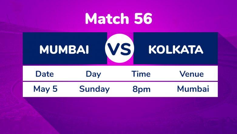 MI vs KKR, IPL 2019 Match 56 Preview: Kolkata Knight Riders' Fate Hangs in Balance Ahead of Match Against Mumbai Indians