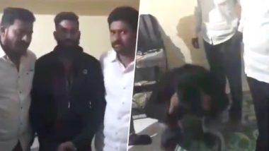 MNS Workers Assault Mumbai Man, Make Him Do 50 Sit-Ups For Derogatory Comments Against Raj Thackeray; Watch Video