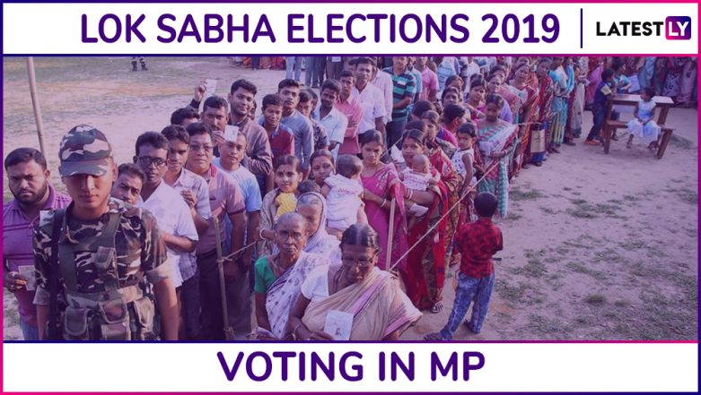 Madhya Pradesh Lok Sabha Elections 2019: Phase 6 Voting Ends in Gwalior, Bhopal, Morena and 5 Other Parliamentary Constituencies; 65.26% Voter Turnout Recorded