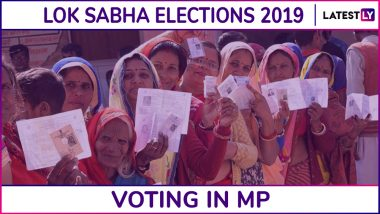 Madhya Pradesh Lok Sabha Elections 2019: Phase 5 Voting Ends in Damoh, Rewa, Satna & 4 Other Parliamentary Constituencies; 63.59% Voter Turnout Recorded