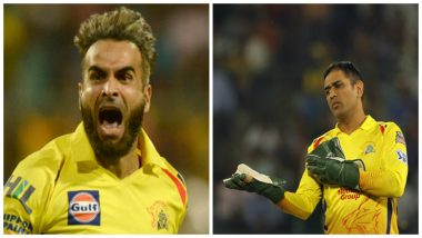 MI vs CSK IPL 2019 Final: MS Dhoni Becomes Most Successful Wicketkeeper in Indian Premier League, Imran Tahir Overtakes Kagiso Rabada as Highest Wicket-taker This Season