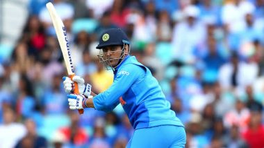 MS Dhoni Hits a Quick Century Against Bangladesh in ICC Cricket World Cup 2019 Warm-Up Match