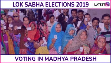 Madhya Pradesh Lok Sabha Elections 2019: Phase 7 Voting Ends in Dewas, Ratlam, Indore & 5 Other Parliamentary Constituencies; 69.38% Voter Turnout Recorded