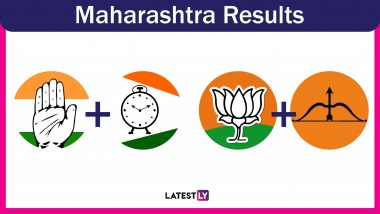 Maharashtra General Election Results 2019: BJP Secures Lead on 23 Seats, Shiv Sena 18, NCP 4