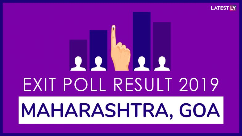 Maharashtra, Goa Exit Poll Results For Lok Sabha Elections 2019 In All Constituencies: BJP to Sweep Both States