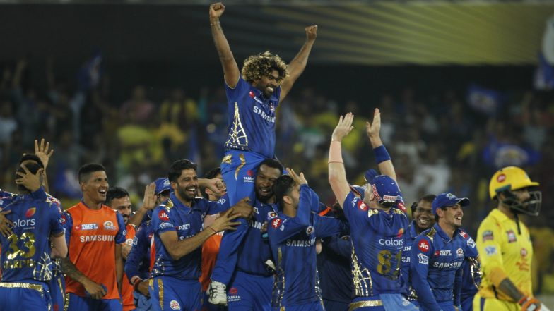 Mumbai Indians is First Team to Win Four IPL Titles, Rohit Sharma's Side Beat MS Dhoni's Chennai Super Kings by 1 Run to Achieve This Feat
