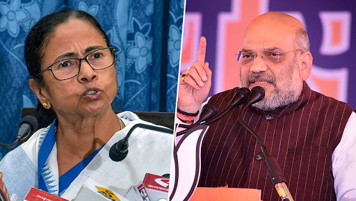 Amit Shah Claims 80 BJP Workers Killed in Last One-and-Half-Year, Holds Mamata Banerjee For Violence in West Bengal