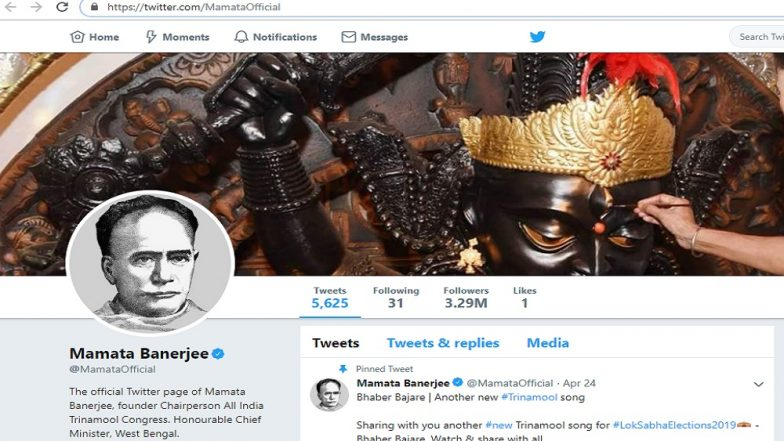 Mamata Banerjee, TMC Leaders Keep Ishwar Chandra Vidyasagar's Photo as DP on Twitter And Facebook
