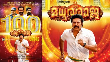 Madhura Raja Box Office Collection: Vysakh's Film Starring Mammootty Crosses Rs 100 Crore Mark in 45 Days