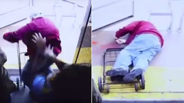 Elderly Man Pushed by Woman Off a Bus in LA When He Asked Her to 'Be Nicer,' Dies! (Watch Shocking Video)