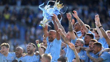 Manchester City 'Drop' and 'Smash' the Premier League Trophy, Video Goes Viral: Here Is the True Story