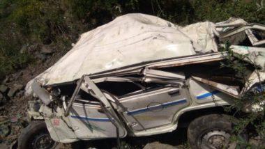 Himachal Pradesh: Jeep Falls in Gorge in Mandi, 5 People killed