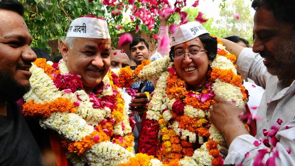 Delhi Election Results 2020: AAP's Atishi Leads From Kalkaji, BJP's Dharamveer Singh and Congress' Shivani Chopra Trail Behind