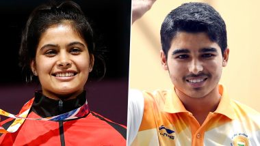 Saurabh Chaudhary and Manu Bhaker Win Gold Medal at ISSF World Cup 2019 Munich in 10m Air Pistol Mixed Team Event