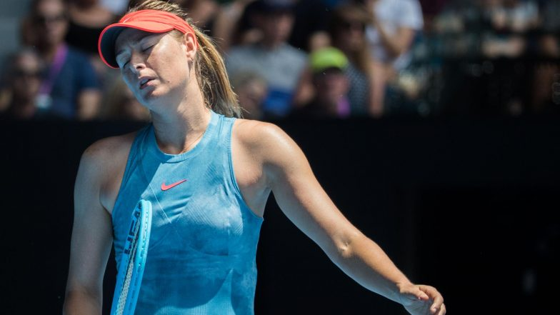 Maria Sharapova Pulls Out of French Open 2019 With Shoulder Injury