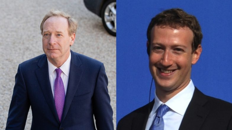 Microsoft President as Facebook's Next CEO? Former FB Security Chief Says Brad Smith Should Replace Mark Zuckerberg