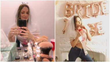 Katherine McPhee's Surprise Bachelorette Party Was a Rager, With Loads of Dancing and a 'Firefighter' Stripper (Watch Video)