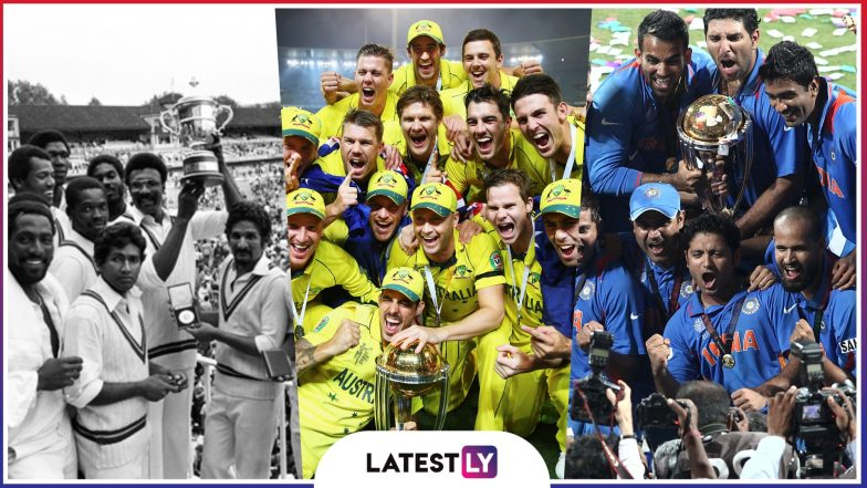 Icc Cricket World Cup 2019 Meet The Winners Who Won The