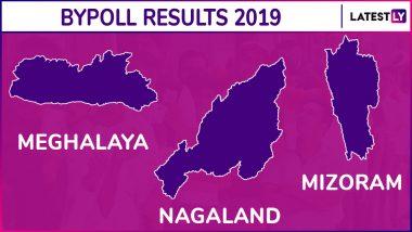 Mizoram, Meghalaya, Nagaland Assembly Bypoll Results 2019: MNF Wins Aizawl West - I, NPP Bags Selsella, NDPP Retains Aonglenden Vidhan Sabha Seats