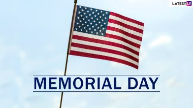 Memorial Day 2019 Date Latest News Information Updated On May 27