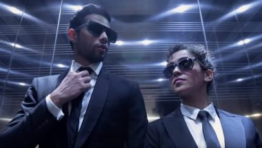 Men In Black: International Hindi Teaser: Siddhant Chaturvedi and Sanya Malhotra Promise Full On Desi Fun - Watch Video